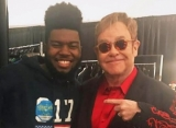 Elton John Puts a Spin to Khalid's 'Young Dumb and Broke'