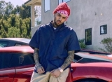 Chris Brown Gets Welfare Check From Police After Giving Away Address Amid Offset Feud
