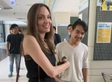 Video: Angelina Jolie 'Trying Not to Cry' as She Drops Son Maddox Off at South Korean College