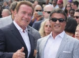 Arnold Schwarzenegger Teases Sylvester Stallone Over the Size of His 'Knife'