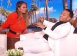 Watch: Chrissy Teigen Makes John Legend Scream Out of Fear on 'Ellen'