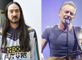 Steve Aoki 'Beyond Excited' About Sting Collaboration for New Single