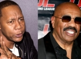 Mark Curry Claims Steve Harvey Stole His Material for 'Bulls**t' Talk Show
