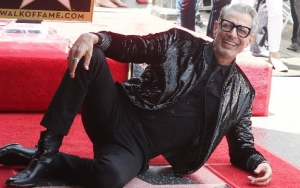Jeff Goldblum Poses With His Star on Walk of Fame