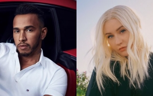 Report: Lewis Hamilton Is the Secret Singer on Christina Aguilera's 'Pipe'