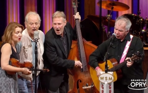 Bill Murray Joins John Prine and The SteelDrivers for Surprise Performance at Grand Ole Opry