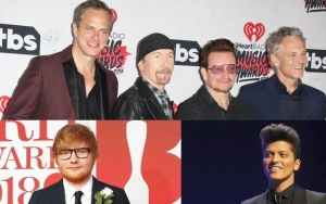 U2 Beats Out Ed Sheeran and Bruno Mars in 2018 Highest-Paid Musician
