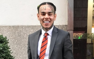 Tekashi69 Gets Handsy With His Girlfriend in First Pic From Jail