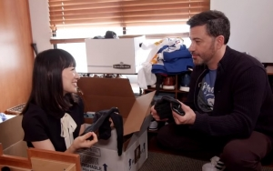 Marie Kondo Finds Dead Cockroach While Tidying Up Jimmy Kimmel's Office