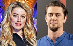 Amber Heard Caught Passionately Locking Lips With Director Andy Muschietti