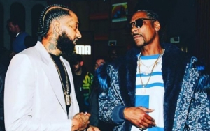 Snoop Dogg Pays Tribute to Late Rapper Nipsey Hussle With Custom Chain