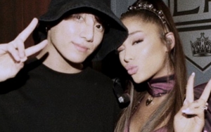 Fans Go Wild After Ariana Grande Posts Picture With BTS' Jungkook