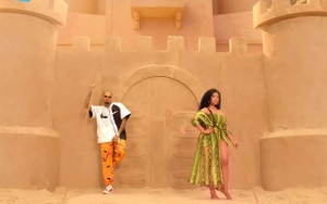 Nicki Minaj Sizzles in Chris Brown's Steamy Music Video for 'Wobble Up'