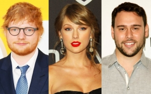 Ed Sheeran Refuses to Publicly Choose Side in Taylor Swift's Feud With Scooter Braun
