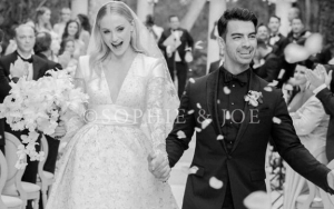Sophie Turner and Joe Jonas Offer First Inside Look at Second Wedding