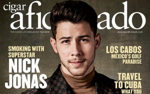 Nick Jonas Accused of Being Irresponsible for Smoking Cigar on Magazine Cover