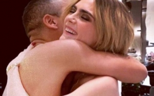 Cara Delevingne Pushes Instagram's Limits With This Risky Naked Hug