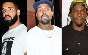 Drake Says He Doesn't Want to End Beef With Kanye West and Pusha T