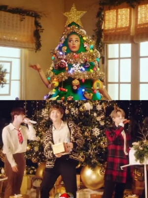 'Disney Holiday Singalong': Katy Perry Dresses Up as Christmas Tree, BTS Offers Solid Performance