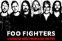 Foo Fighters Reschedules Two Canadian Concerts After Dave Grohl Loses Voice