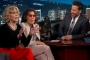 Jane Fonda Gets Political With Call for Wall During Jimmy Kimmel Interview