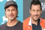 Brad Pitt Admires Adam Sandler Over His Run-In With Professor Who Told Him to Quit Acting