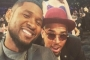Chris Brown Shows Off New Motorbike From Usher on Christmas