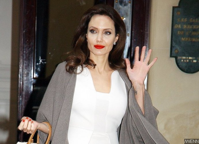 Angelina Jolie is dating a real estate agent