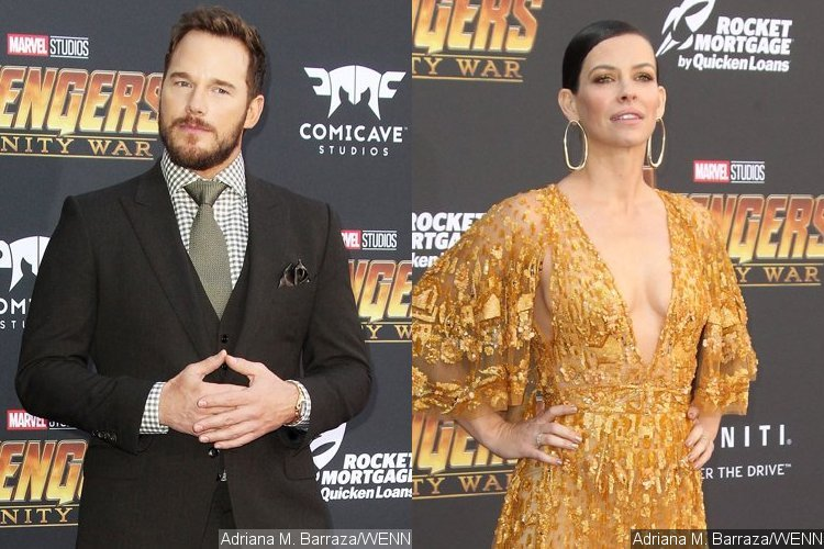 Chris Pratt Gets Flirty With Evangeline Lilly at 'Avengers: Infinity War' Premiere After Divorce
