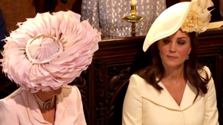 Royal Feud? Kate Middleton Spotted Giving Camilla Parker Bowles Side Eye at Royal Wedding