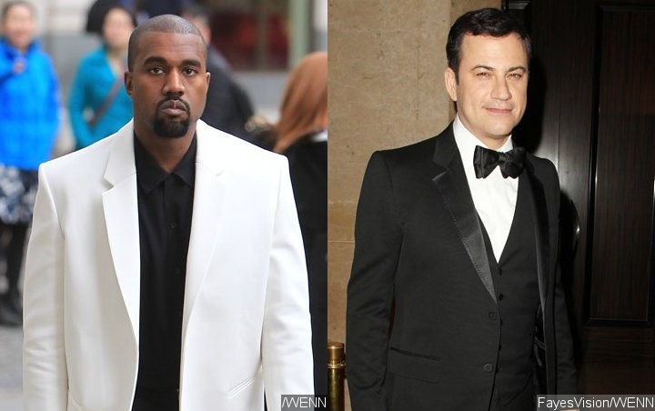 Kanye West to Appear on 'Jimmy Kimmel Live!' After 5 Years