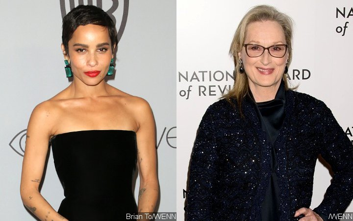 Zoe Kravitz Thrilled by Meryl Streep's Praise for Her Bowling Skills