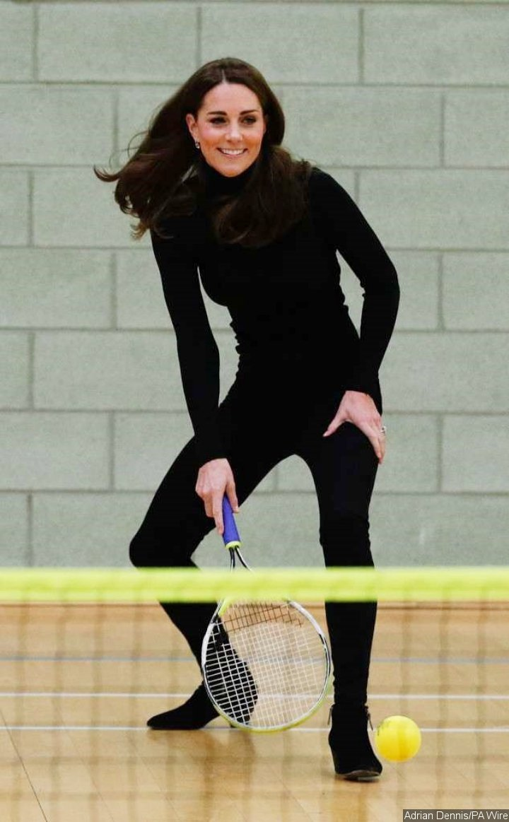 Kate Middleton Visited the Coach Core at the Basildon Sporting Village in Essex