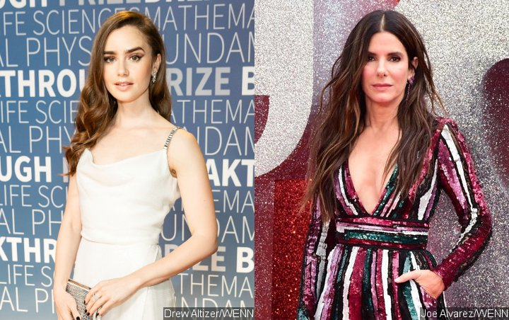 Lily Collins Wants to Reunite With Sandra Bullock on Comedy Movie