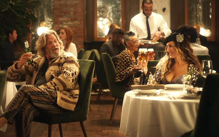 SJP's Carrie Bradshaw and Jeff Bridges' The Dude Share Same Taste in Stella Artois' Super Bowl Ad