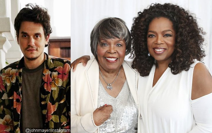 John Mayer Is All for Oprah Winfrey's Clap-Back at Troll Who Disses Her Maya Angelou Tribute