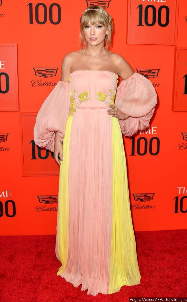Taylor Swift at 2019 TIME 100 Gala