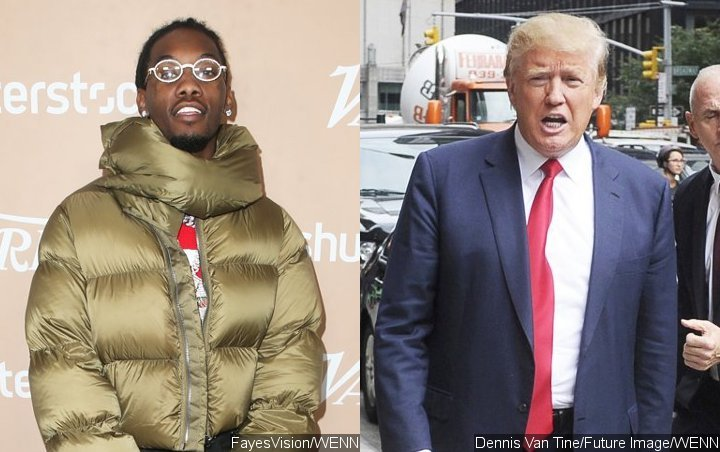 Offset Blasts Donald Trump Supporter for Mocking His Anti-Abortion Bill Tweet
