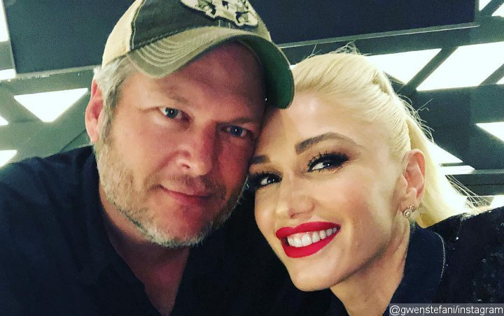 Closer Than Ever! Blake Shelton Gives Gwen Stefani's Dad a Kiss on the Cheek in New Picture
