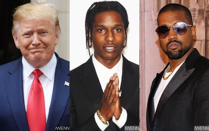 Donald Trump Working to Release A$AP Rocky From Swedish Prison After Kanye West Lobbies Him