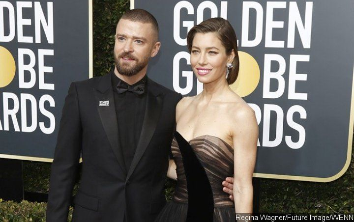 Justin Timberlake's Sweet Compliment on Jessica Biel's Makeup-Free Selfie Has Fans Gushing