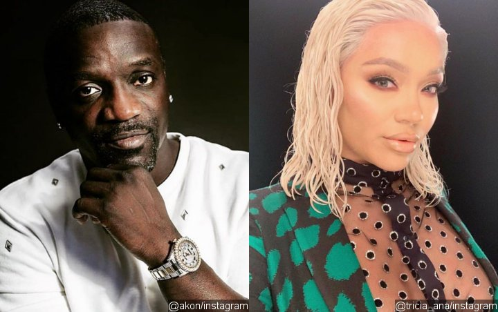Akon's Wife Tricia Ana Sparks Divorce Rumors After She's Seen Cuddling to Mystery Man