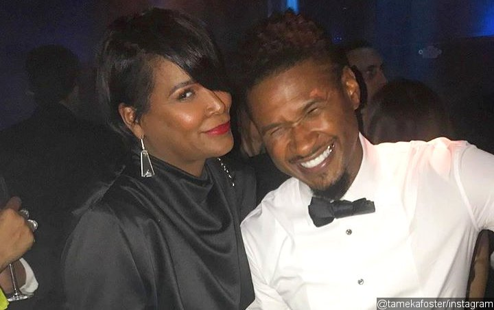 Usher Showered With Sweet 41st Birthday Message by Ex-Wife