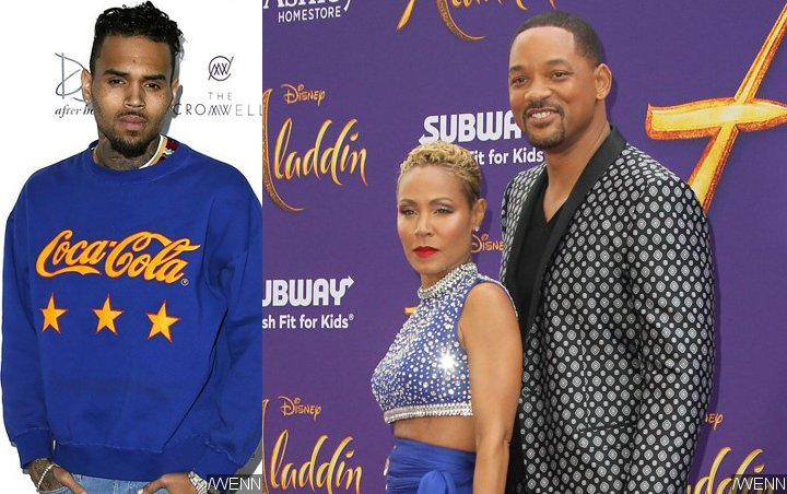 Chris Brown Faces Backlash for Weighing In on Jada Pinkett and Will Smith's Drama