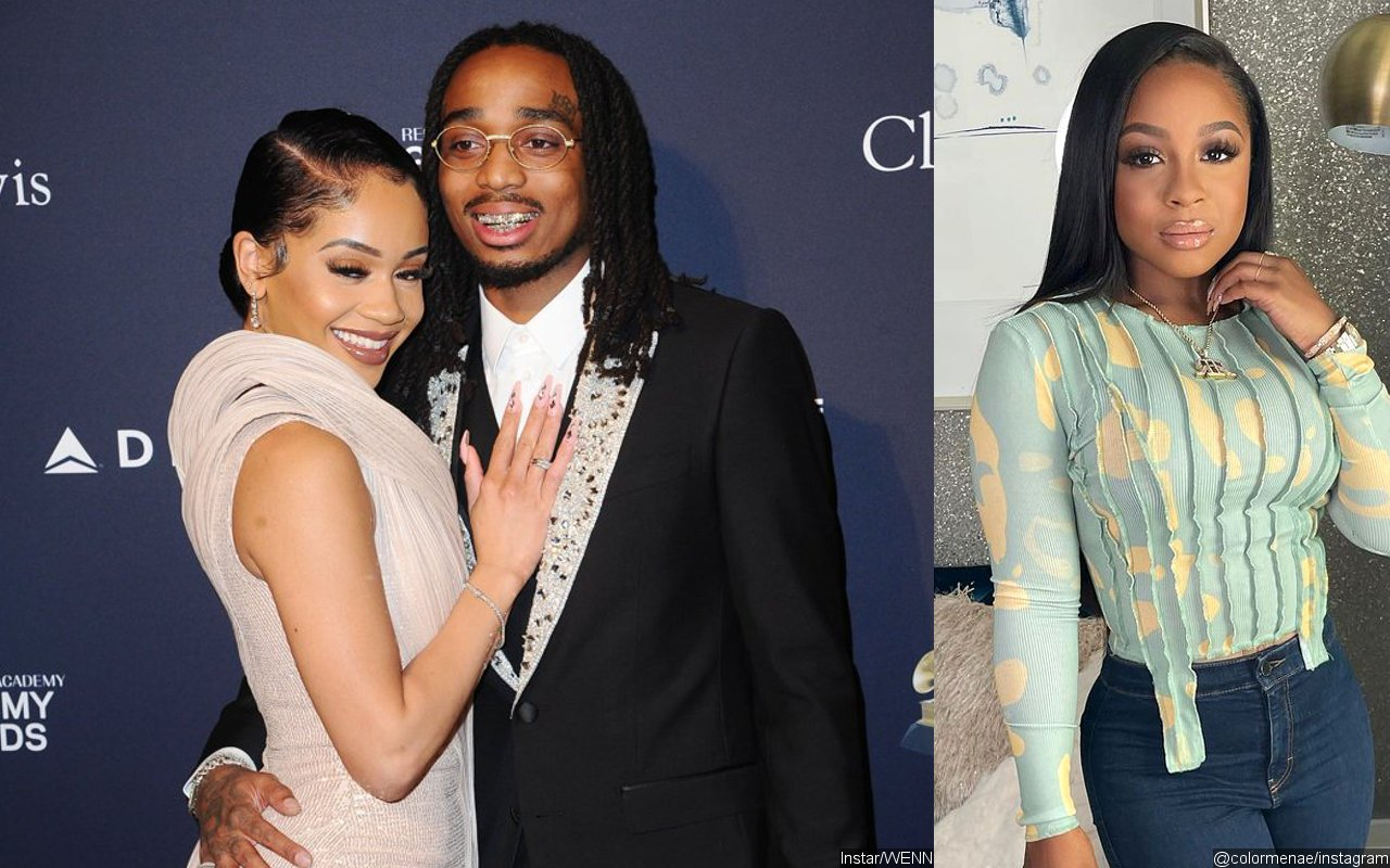 Quavo Shuts Down 'Crazy' Rumors Accusing Him of Cheating on Saweetie With Reginae Carter