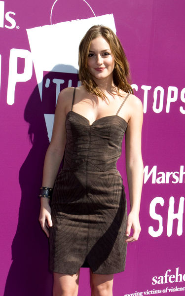 Leighton Meester<br>Leighton Meester and Marshalls