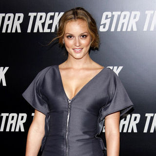 "Leighton Meester in ""Star Trek"" Los Angeles Premiere - Arrivals"