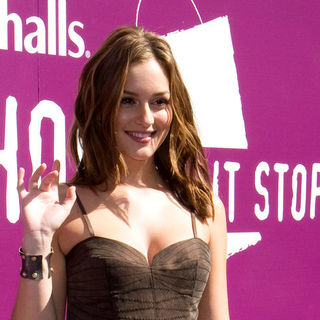 "Leighton Meester in Leighton Meester and Marshalls ""Shop 'Til it Stops"" to Benefit Victims of Violence Against Women"