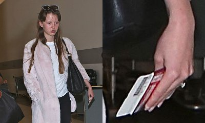 Shia LaBeouf's Girlfriend Mia Goth Flashes Huge Diamond Ring, Sparks Engagement Rumors