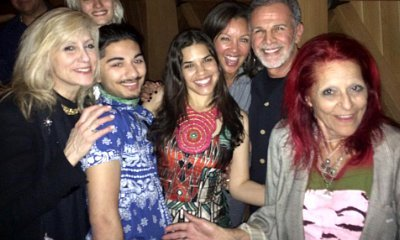 America Ferrera Joined by 'Ugly Betty' Cast on 31st Birthday Bash